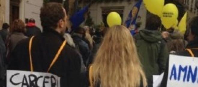 Manifestazione per indulto e amnistia a Roma