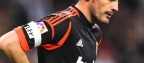 Iker Casillas, portiere del Real Madrid
