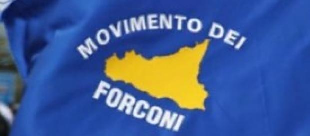 Il logo del movimento dei forconi