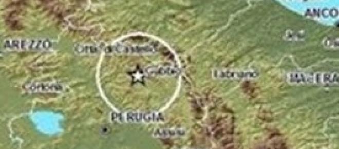 Umbria: sisma di 3.7 nel cuore della notte