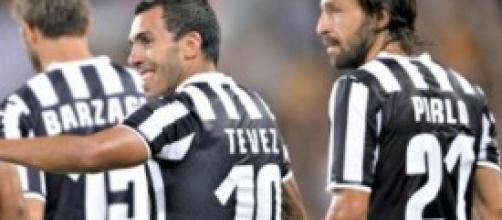 Verso Juventus-Roma: c'è Tevez, torna Pirlo