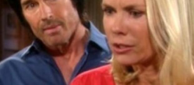 Brooke Logan e il vecchio Ridge Forrester