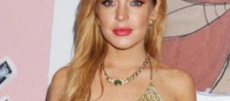 Lindsay Lohan, rubato il PC con le foto senza veli