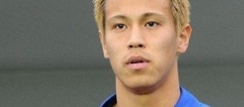 Honda, il talento giapponese è arrivato al Milan