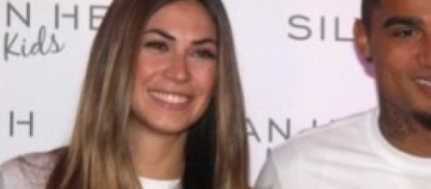 Melissa Satta in  dolce attesa