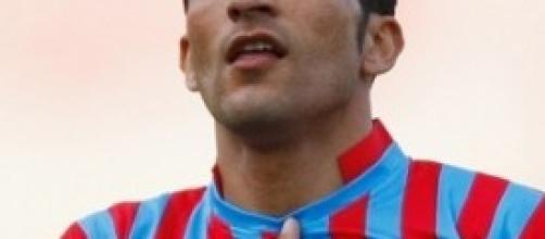 Francesco Lodi [29], centrocampista del Catania