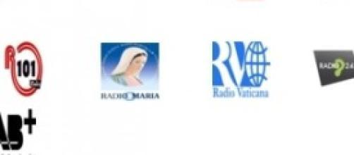 Alcune delle emittenti radio aderenti ai consorzi
