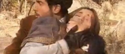 Il segreto, Juan rapisce sua moglie Soledad