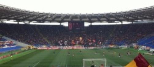 L'Olimpico, teatro del match Roma-Livorno