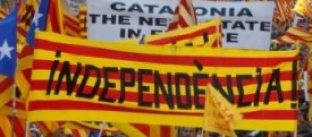 Manifestazione per l'indipendenza catalana