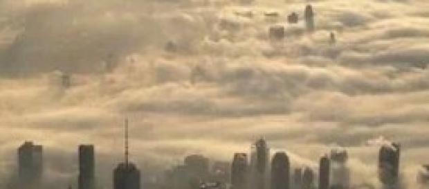 New York, la città tra le nuvole
