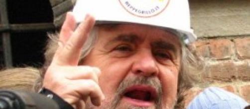 Beppe Grillo del Movimento Cinque Stelle