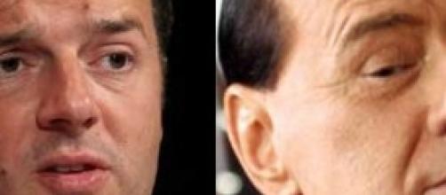 Berlusconi e Renzi, patto d'acciaio