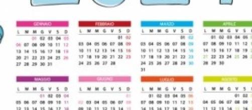 Calendario Feste.Calendario 2014 Date Ufficiali Di Feste Ponti Vacanze