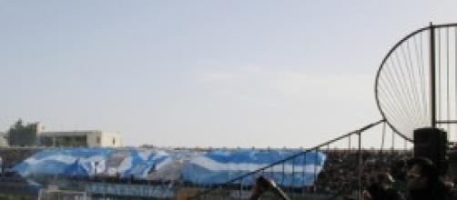 Curva Sud Agrigento durante Akragas Savoia