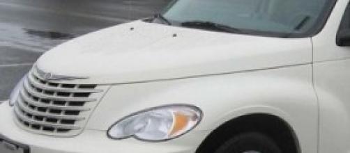 Una delle autovetture a marchio Chrysler