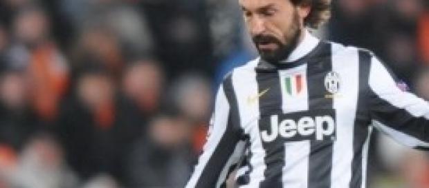 Andrea Pirlo centrocampista Juventus