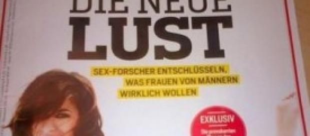 Elisabetta Canalis senza veli su Focus Germania