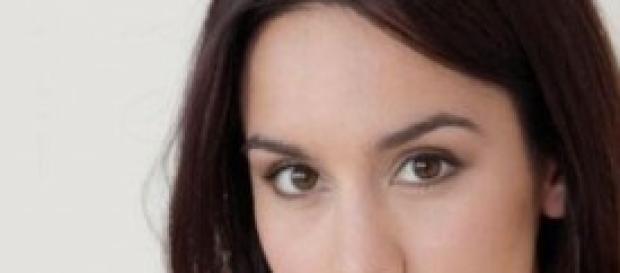 Un'immagine dell'attrice che interpreta Pepa