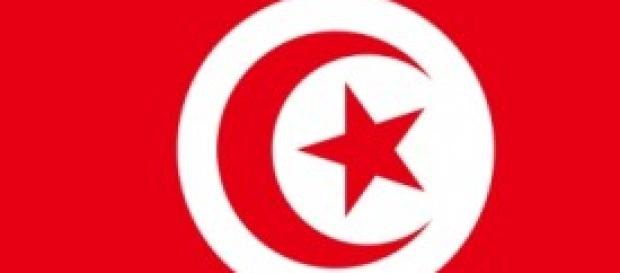 La bandiera della Tunisia