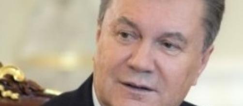 Il presidente dell'Ucraina Yanukovich