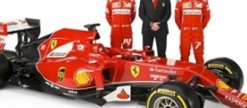 Mika e Raikkonen, piloti della Ferrari F14T