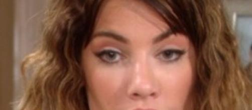 Un'immagine dell'attrice che interpreta Steffy