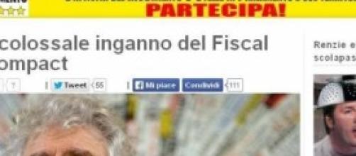 Il blog di Beppe Grillo beppegrillo.it