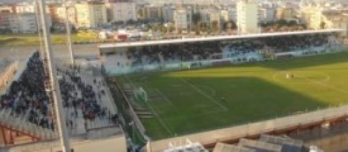 Uno scorcio dello stadio di Crotone