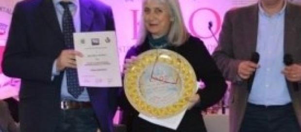 Beatrice Monroy premiata al Kaos di Montallegro
