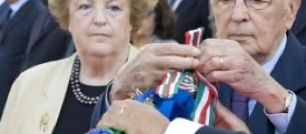 Giorgio Napolitano e Annamaria Cancellieri