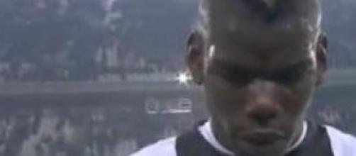 Paul Pogba centrocampista della Juventus