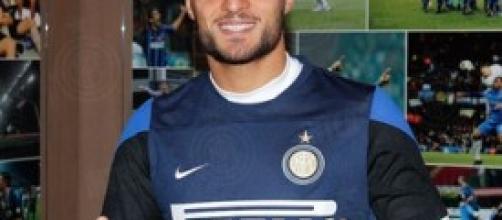 Danilo D'Ambrosio con la maglia dell'Inter