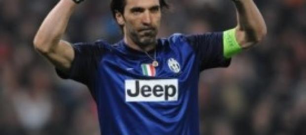 Gianluigi Buffon al centro delle polemiche