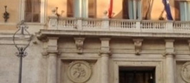 Palazzo Montecitorio, sede della Camera dei Deputati, <em>foto di Calogero Giuffrida</em>