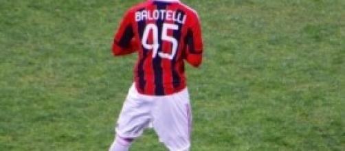 Mario Balotelli, attaccante del Milan