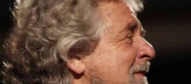 Beppe Grillo, leader Movimento 5 stelle