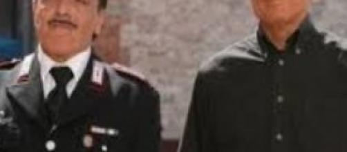 Don Matteo e il maresciallo Cecchini