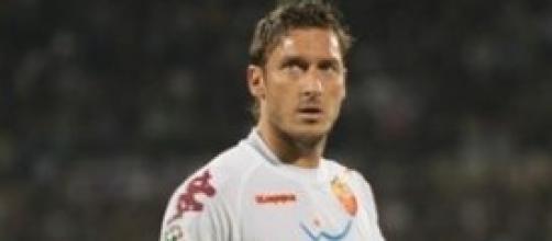 Francesco Totti capitano della Roma