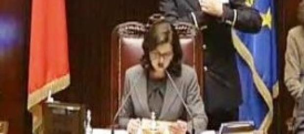 Laura Boldrini, presidente della Camera,