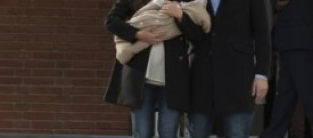 Sara Carbonero Iker Casillas con il piccolo Martin
