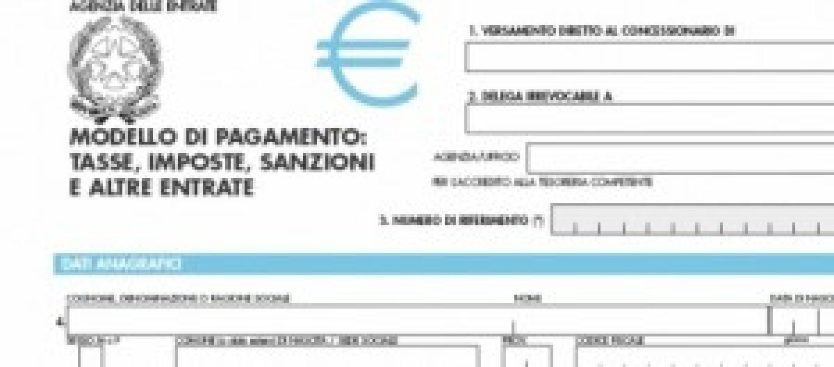 Novità Modello F24: Da Ottobre Il Nuovo Modello Verrà Pagato Per Via  Telematica