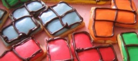 Dulces basados en Tetris.
