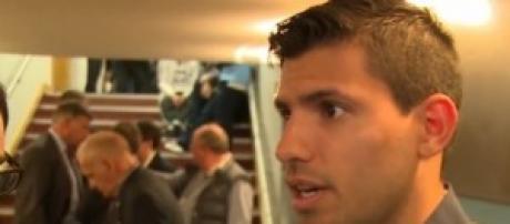 Sergio Aguero, Man City's striker