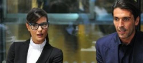 Ilaria D'Amico incinta di Gigi Buffon? Pare di sì.