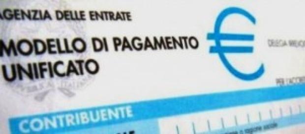 Modello di pagamento F24 Agenzia delle Entrate