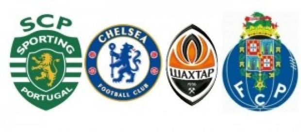 Sporting Chelsea Shaktar Porto