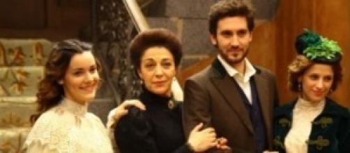 Alcuni protagonisti della soap il Segreto