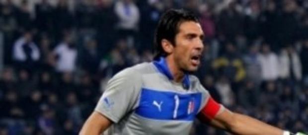 Gigi Buffon capitano della Nazionale italiana