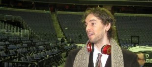 Pau Gasol, jugador de los Chicago Bulls.